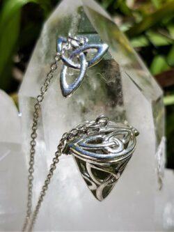 Magnificent Moldavite Pendulum