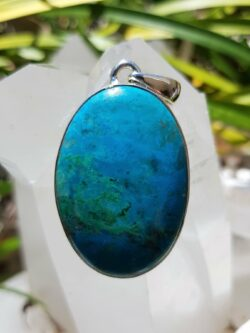 Classic Chrysocolla, align with the divine.