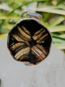 Chiastolite, wear it to dispel challenges.