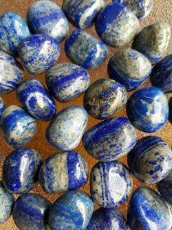 Lapis Lazuli Tumble stones B grade medium